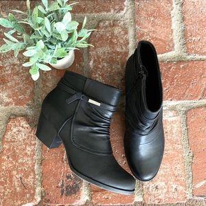 BareTraps black booties size 10